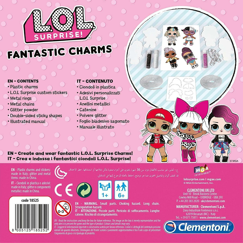 clementoni lol surprise! - fantastic charms 18525