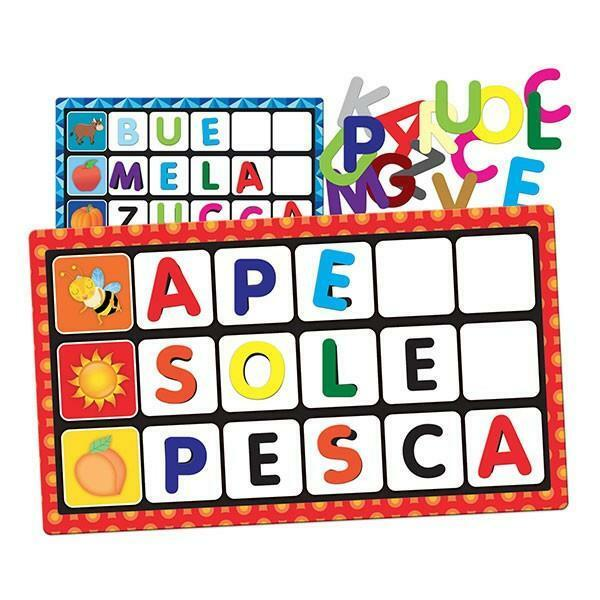 headu headu lettere e parole montessori