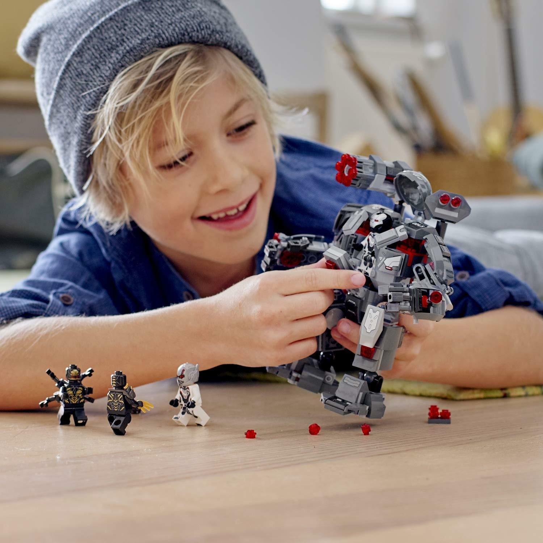 lego lego marvel 76124 - war machine buster