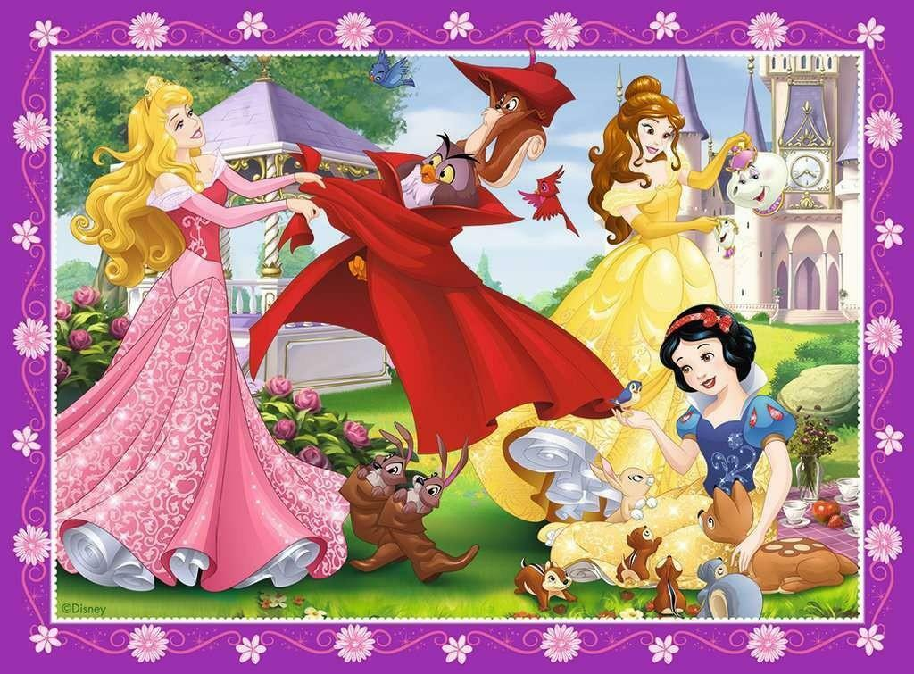 ravensburger ravensburger puzzle 4 in 1 - disney princess