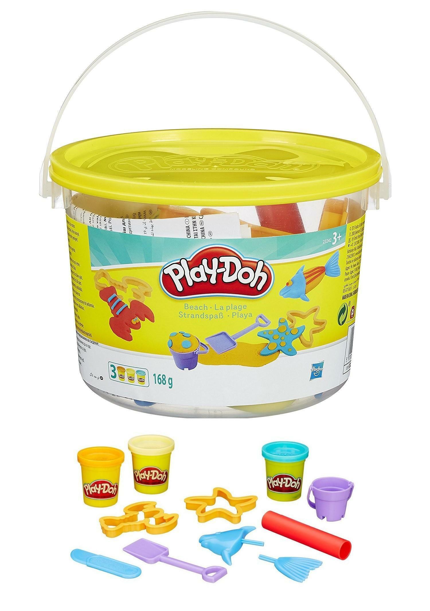hasbro hasbro play-doh mini secchiello