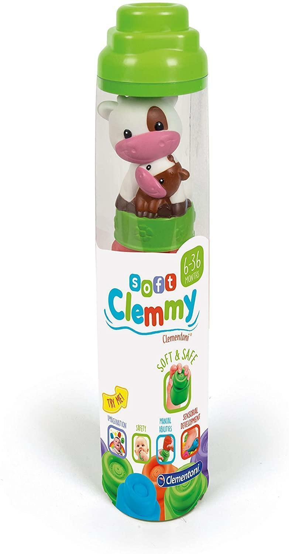 clementoni soft clemmy 17205 - tubo sweet animal
