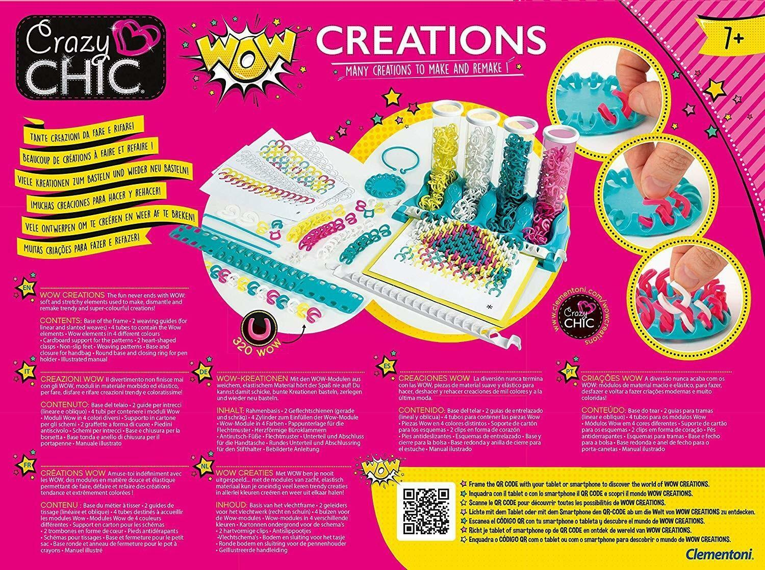 clementoni crazy chic - wow creations 18540