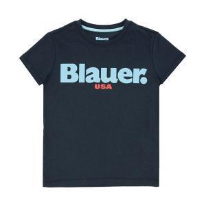 blauer t-shirt blauer junior blu 20sblkh02195