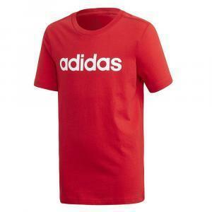 adidas adidas t-shirt bambino rosso bianco fs9587ADIDAS T-SHIRT BAMBINO ROSSO BIANCO FS9587