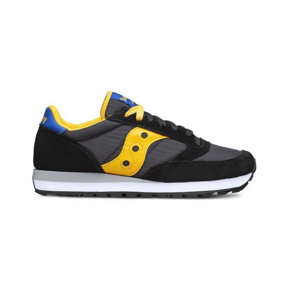 saucony saucony scarpa jazz original uomo nero giallo grigio s2044
