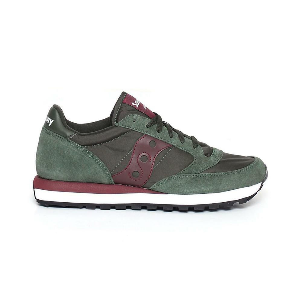 saucony saucony scarpa jazz original sportiva uomo verde mosto s2044