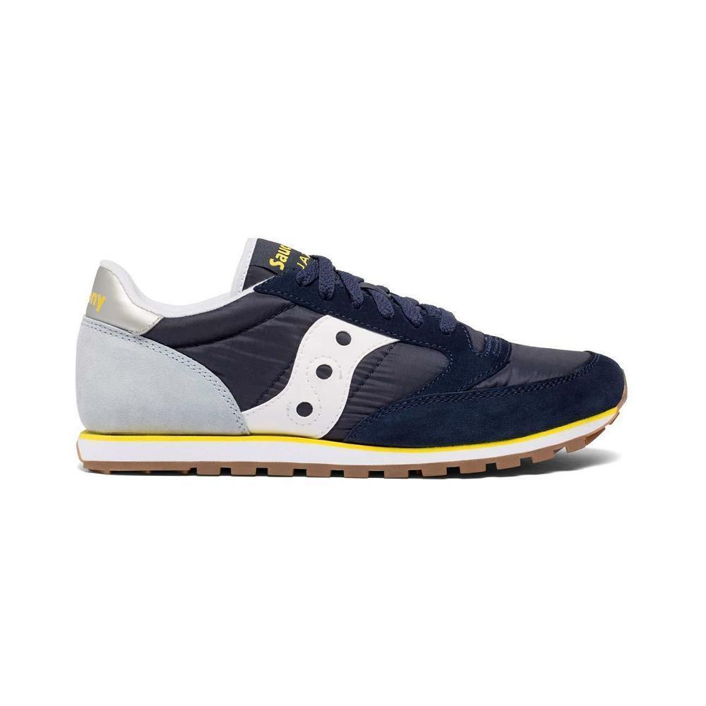 saucony saucony scarpa jazz low pro uomo blu giallo s2866-264