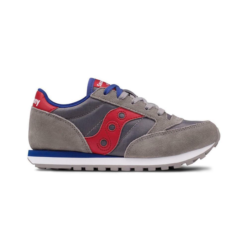 saucony saucony junior piu scarpe bambino grigio rosso sk259608