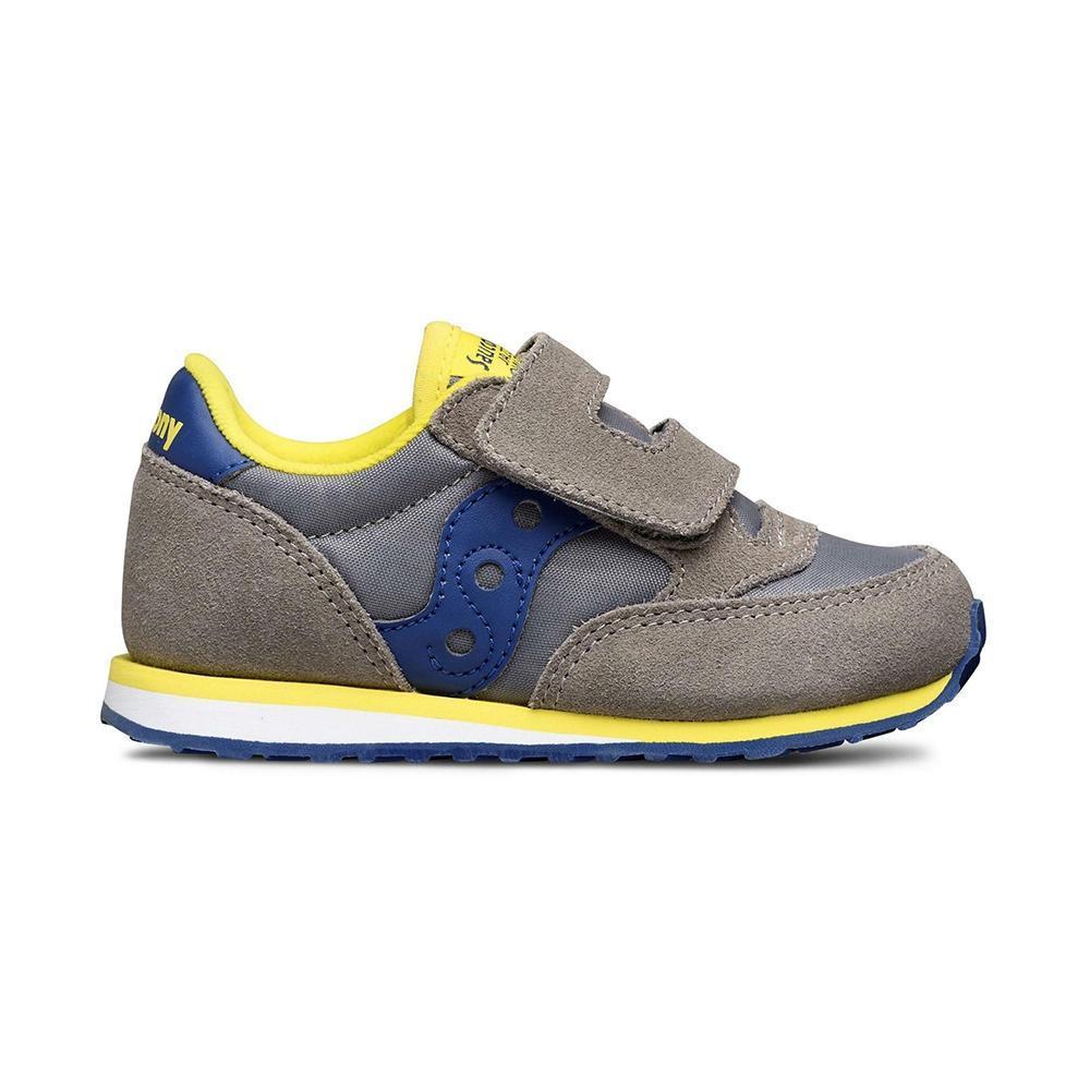 saucony saucony scarpa bambino grigio giallo sl261033