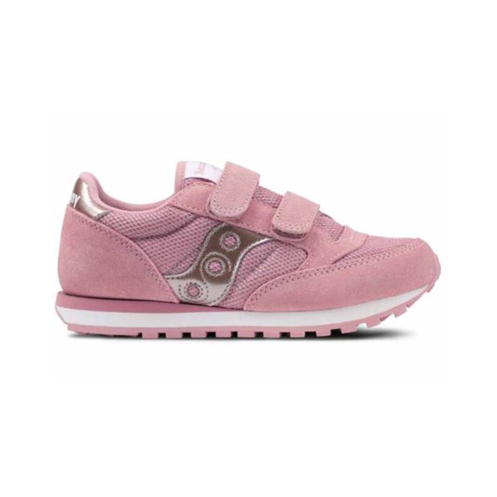 saucony saucony scarpa bambina  rosa argento sk159625