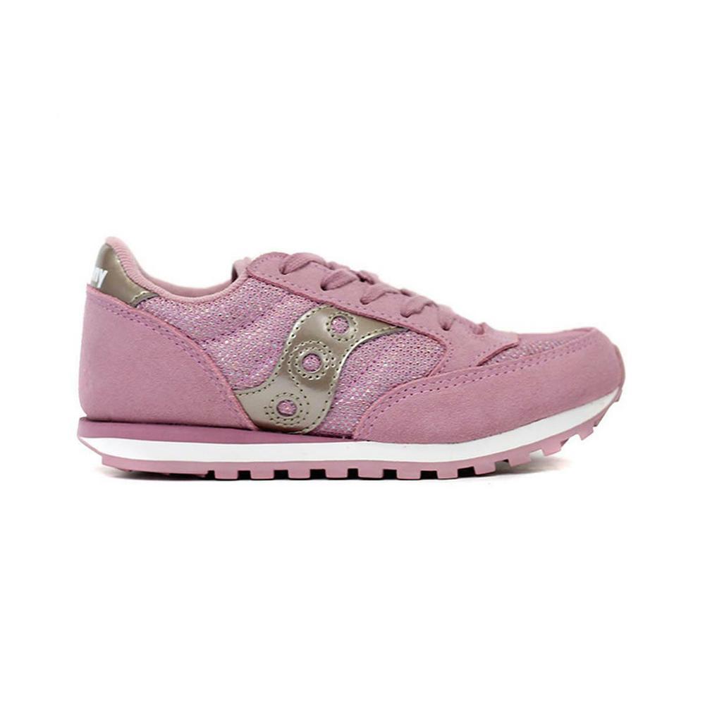 saucony saucony junior scarpe bambina rosa argento sk159614