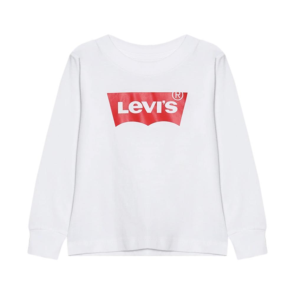 levis levis t-shirt m/l bianco junior 9e8646
