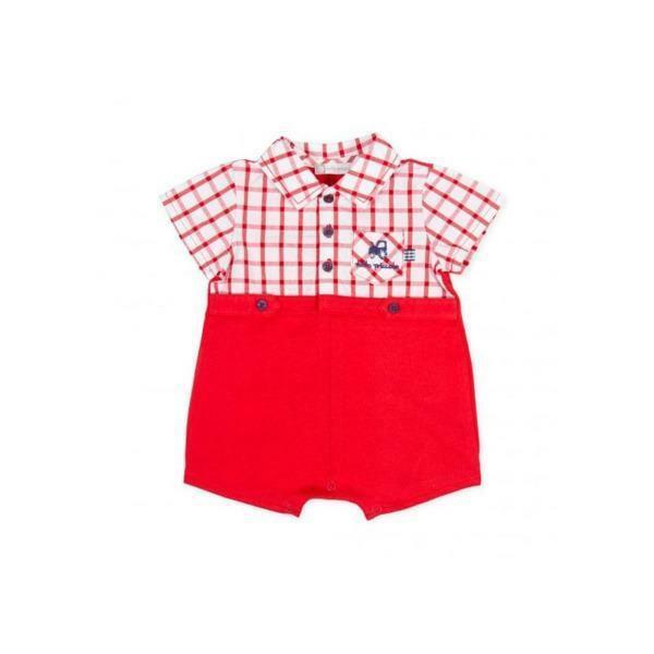 tutto piccolo tutto piccolo pagliacetto neonato rosso 8294s20