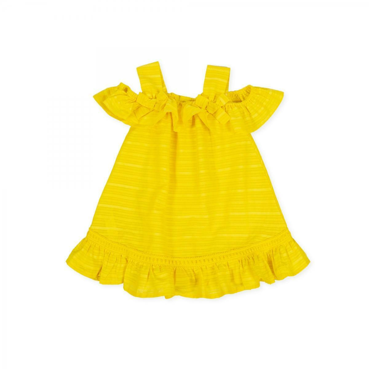tutto piccolo tutto piccolo vestitino neonata giallo 8271s20/y00