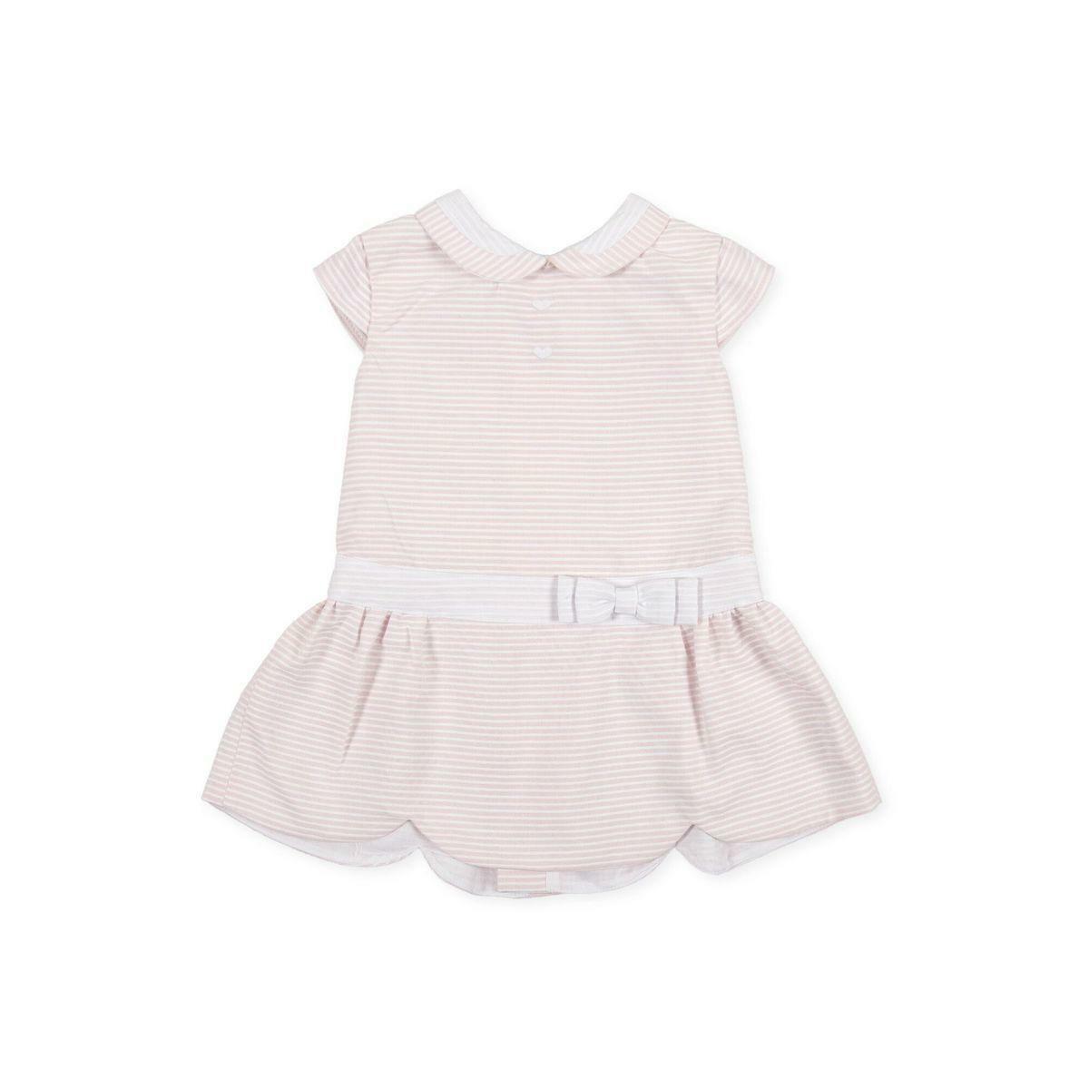 tutto piccolo tutto piccolo vestitino neonato rosa 8212s20/p00