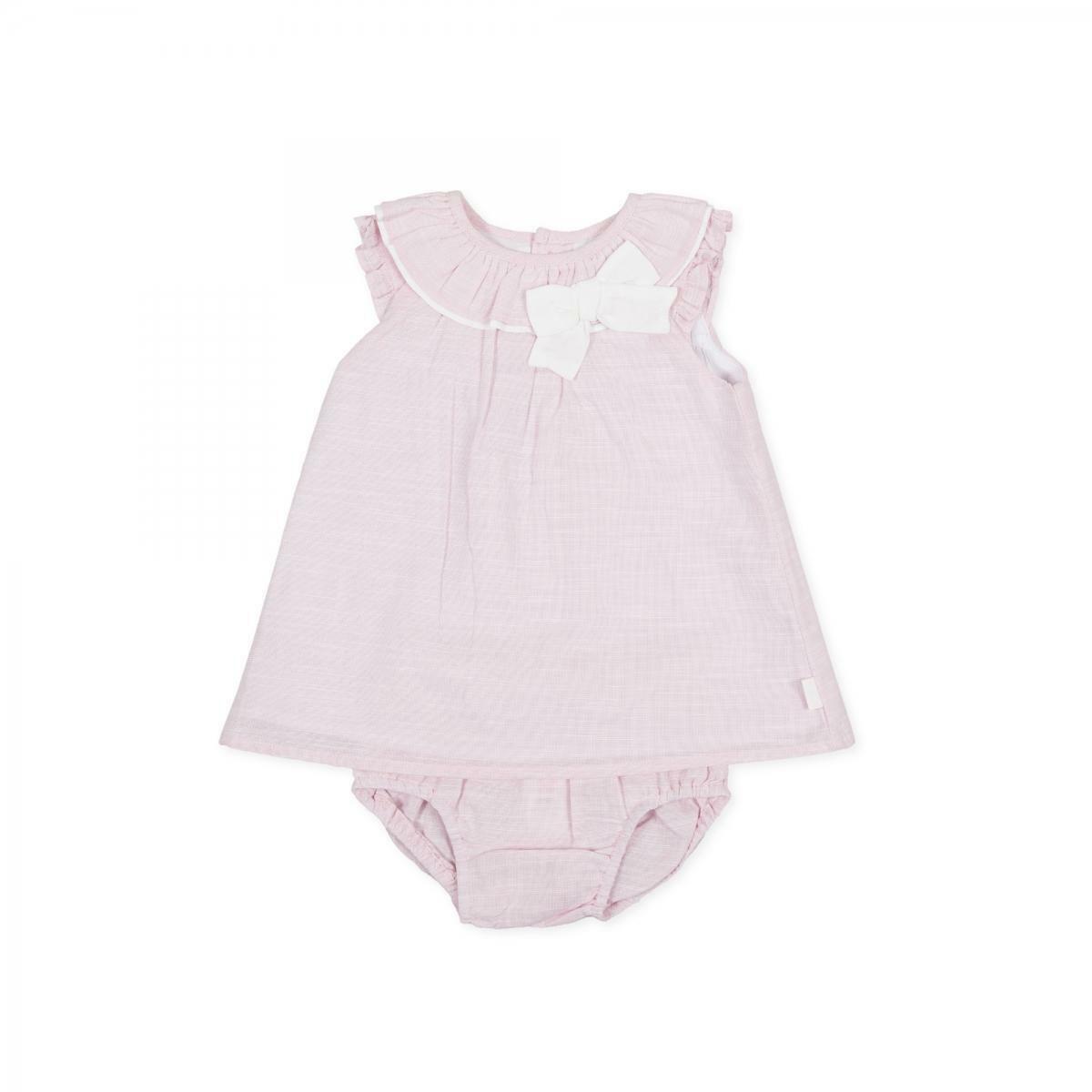 tutto piccolo tutto piccolo vestitino neonata  rosa 8210s20