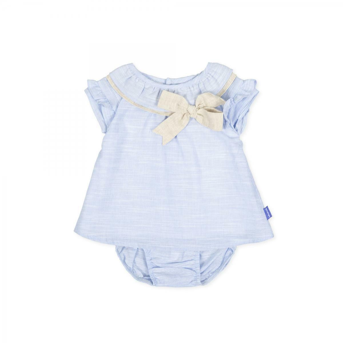 tutto piccolo tutto piccolo vestitino bambina azzurro 8210s201
