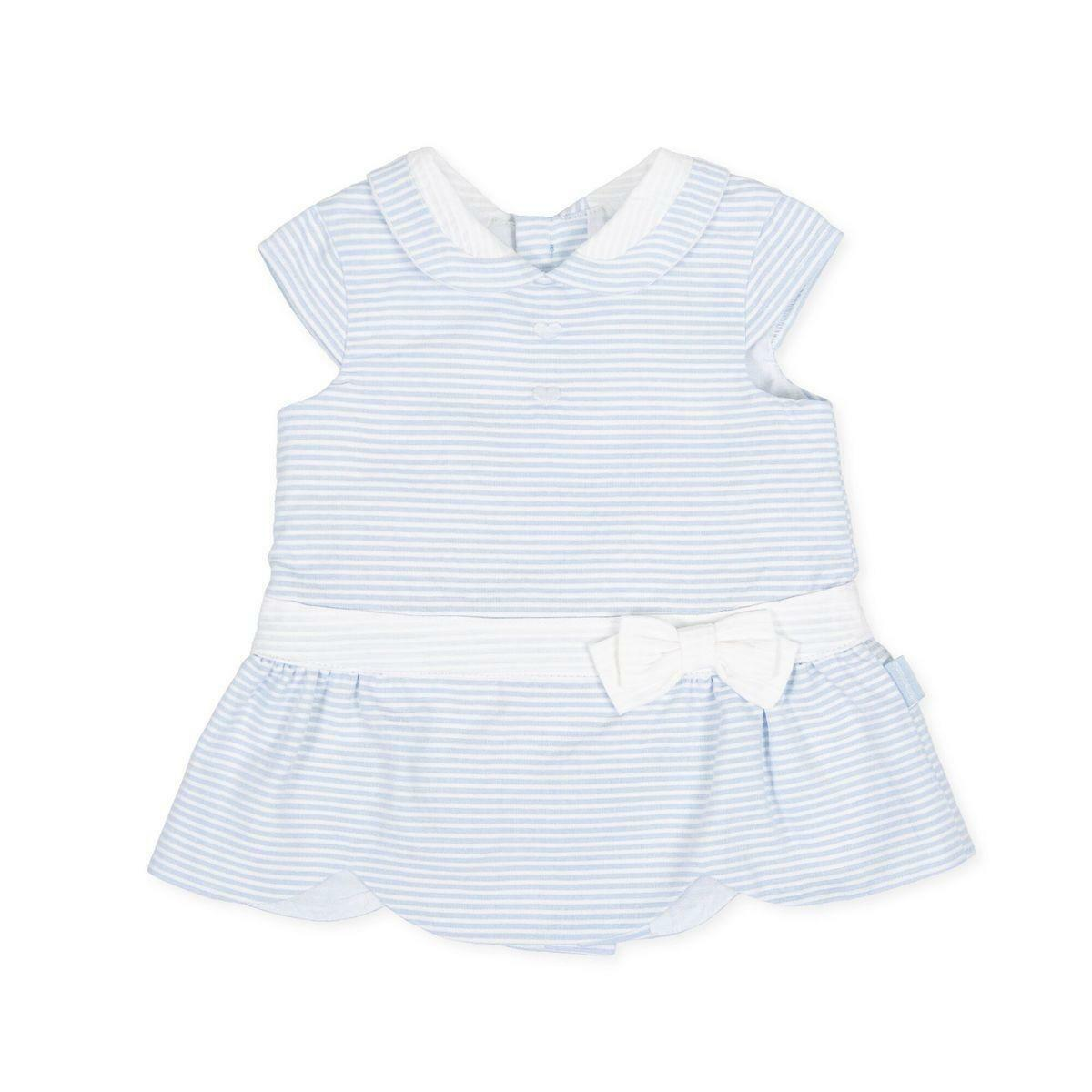 tutto piccolo tutto piccolo vestitino neonato azzurro 8212s20/b01