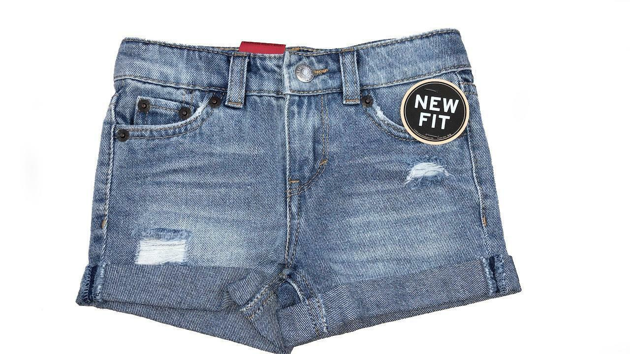 levis levis short ragazza denim 4e4536