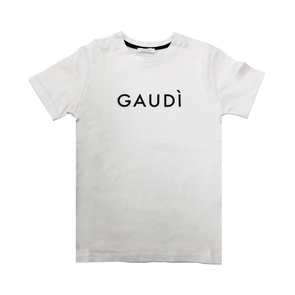 gaudi t-shirt gaudi ragazza bianco gajm0115