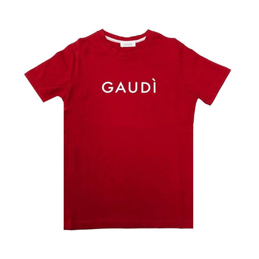 gaudi t-shirt gaudi ragazza rosso gajm0115