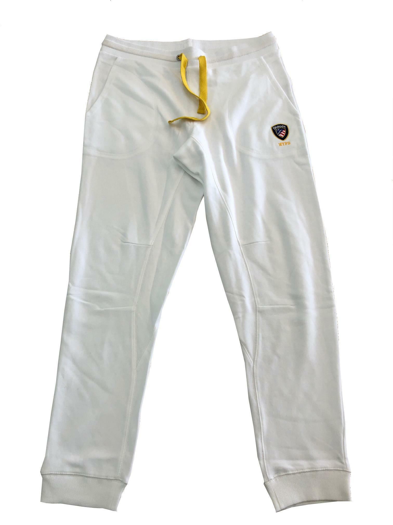 blauer pantalone tuta blauer uomo bianco 20sbluf07139