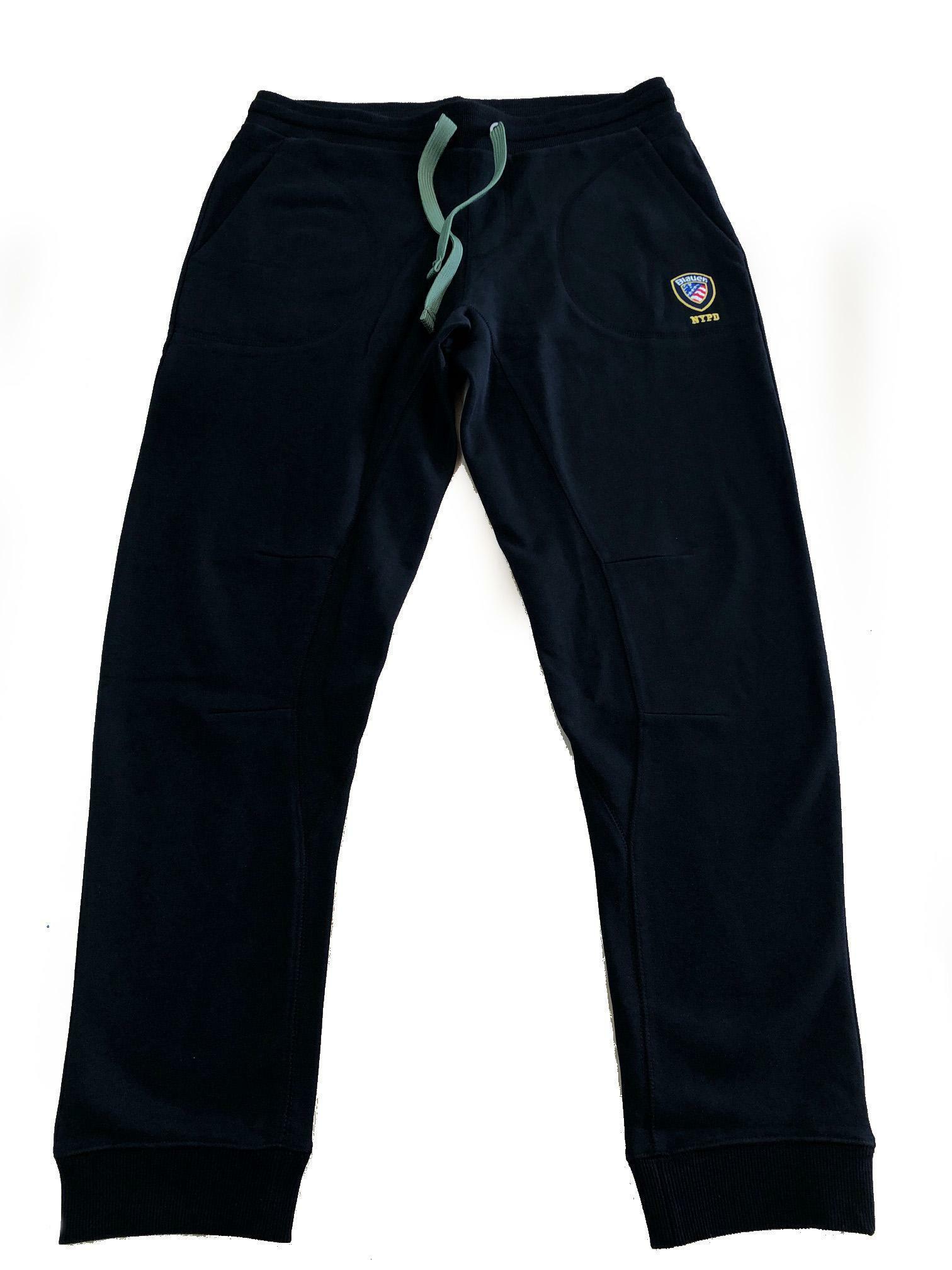 blauer pantalone tuta blauer uomo nero 20sbluf07139