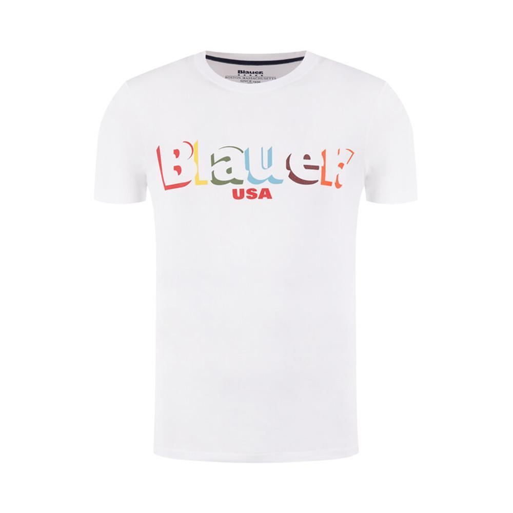 blauer t-shirt blauer uomo bianco 20sbluh02159