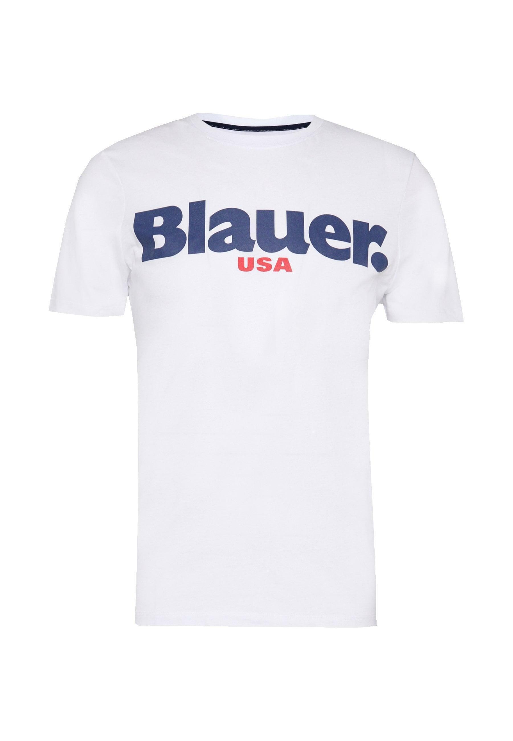 blauer t-shirt blauer uomo bianco 20sbluh02170