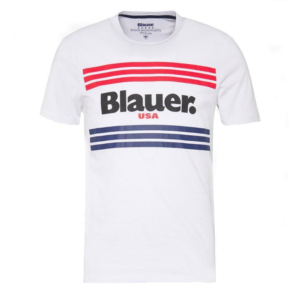 blauer t-shirt blauer uomo bianco 20sbluh02178
