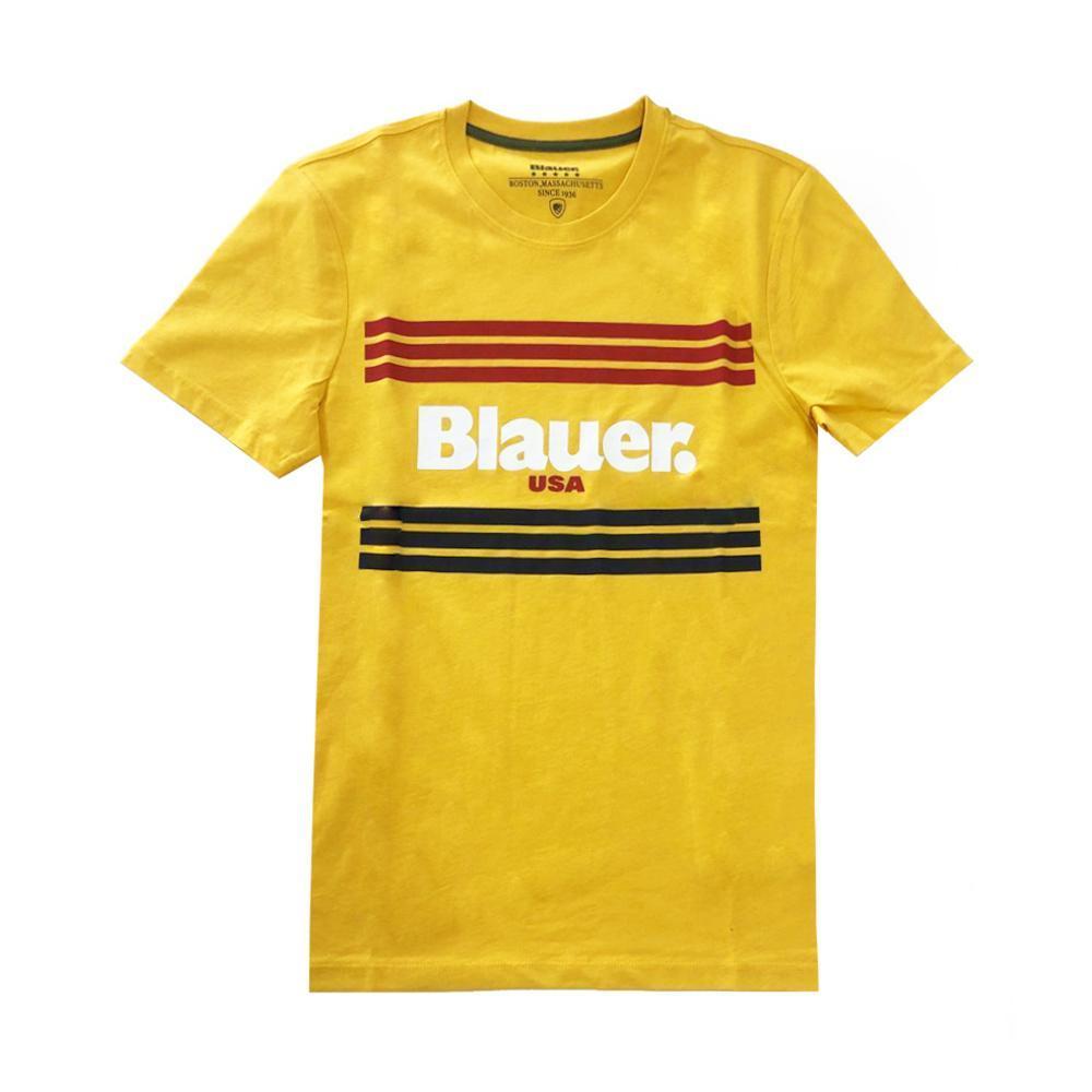 blauer t-shirt blauer uomo giallo 20sbluh02178