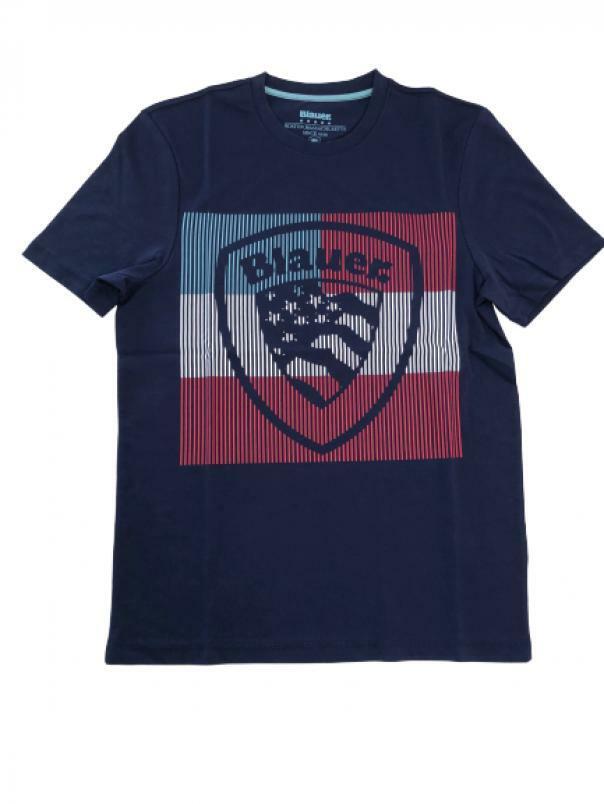 blauer t-shirt blauer uomo blu 20sbluh02179