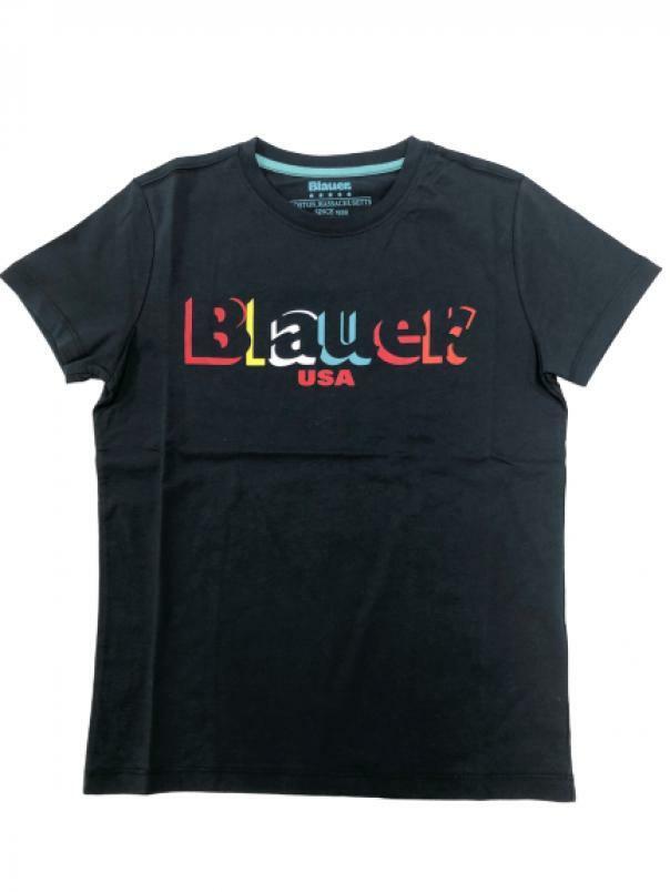 blauer t-shirt blauer junior blu 20sblkh02192