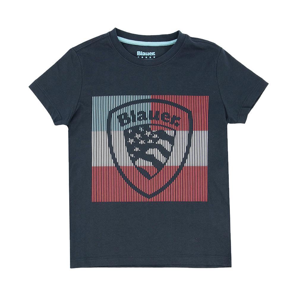 blauer t-shirt blauer junior blu 20sblkh02193
