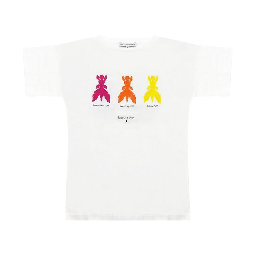 patrizia pepe patrizia pepe t-shirt ragazza bianco te3912270495