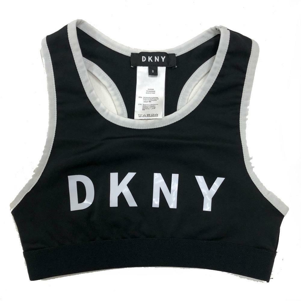 dkny dkny top  ragazza nero d35q55