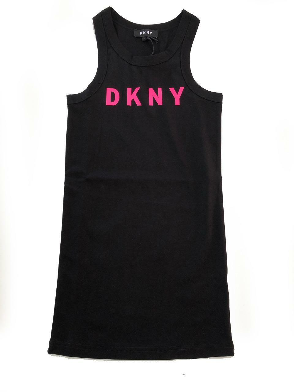 dkny dkny vestito  ragazza nero d32734