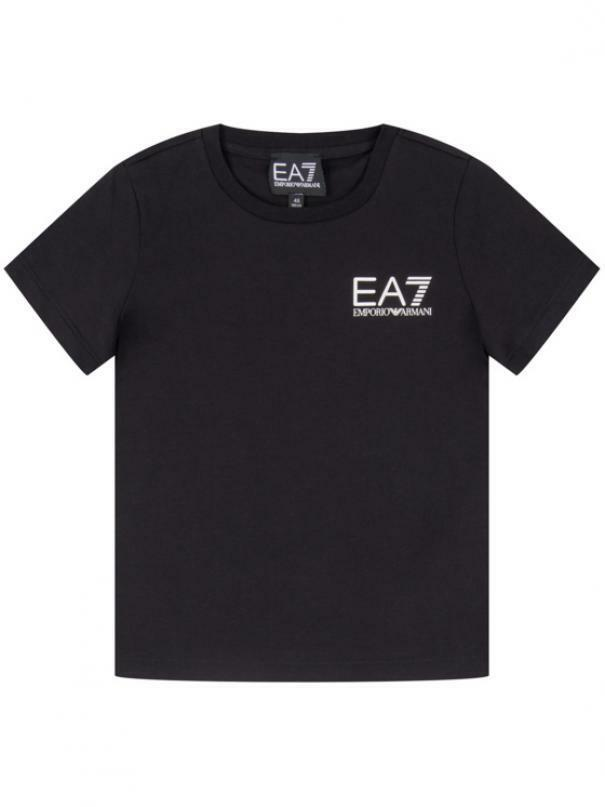 ea7 t-shirt  ea7 junior nero 3hbt51-bj02z