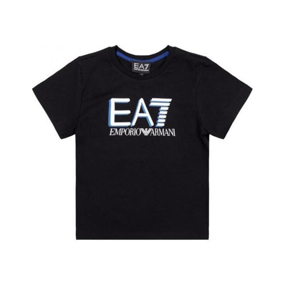 ea7 t-shirt  ea7 junior nero 3hbt53-bjt3z