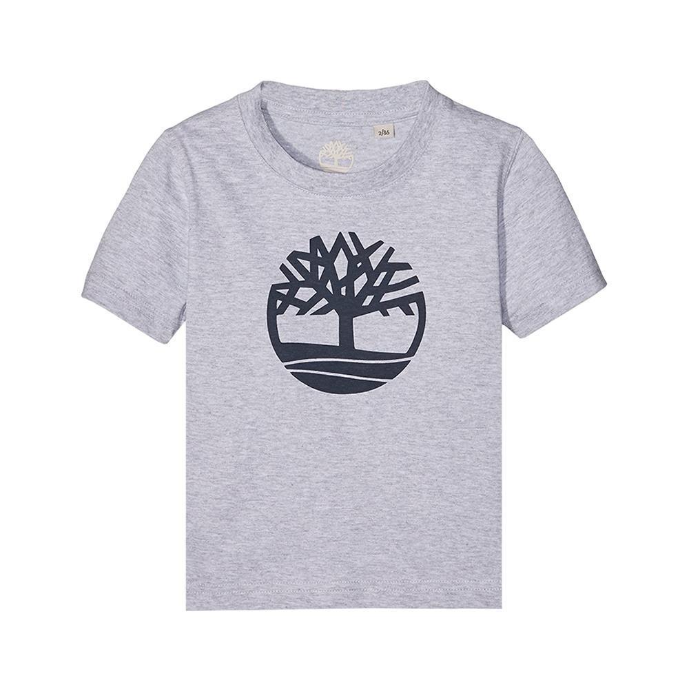 timberland timberland t-shirt bambino grigio t25p12