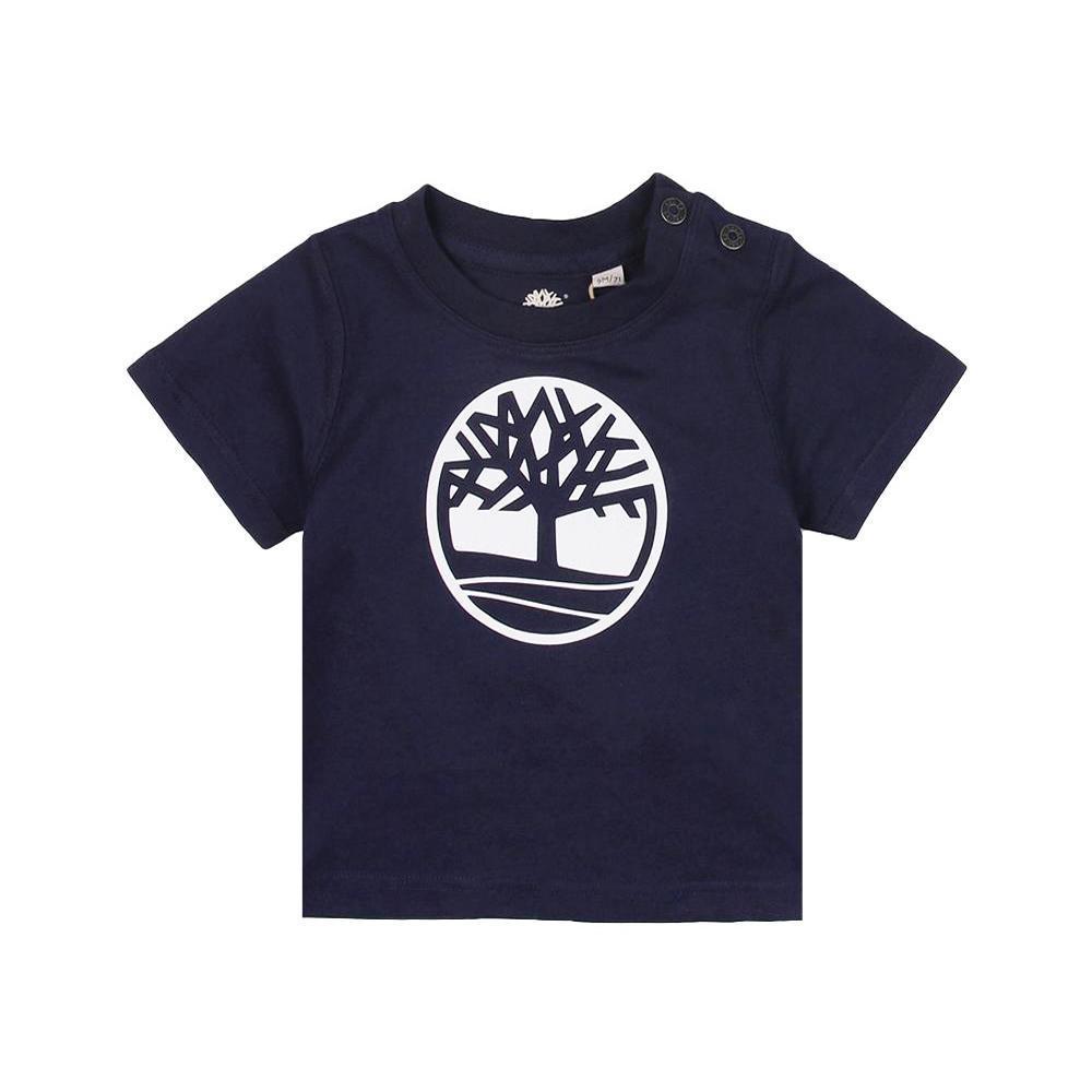 timberland timberland t-shirt neonato blu t05j17