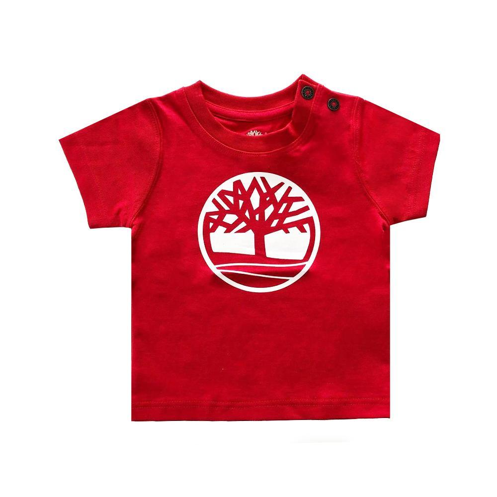 timberland timberland t-shirt neonato rosso t05j17