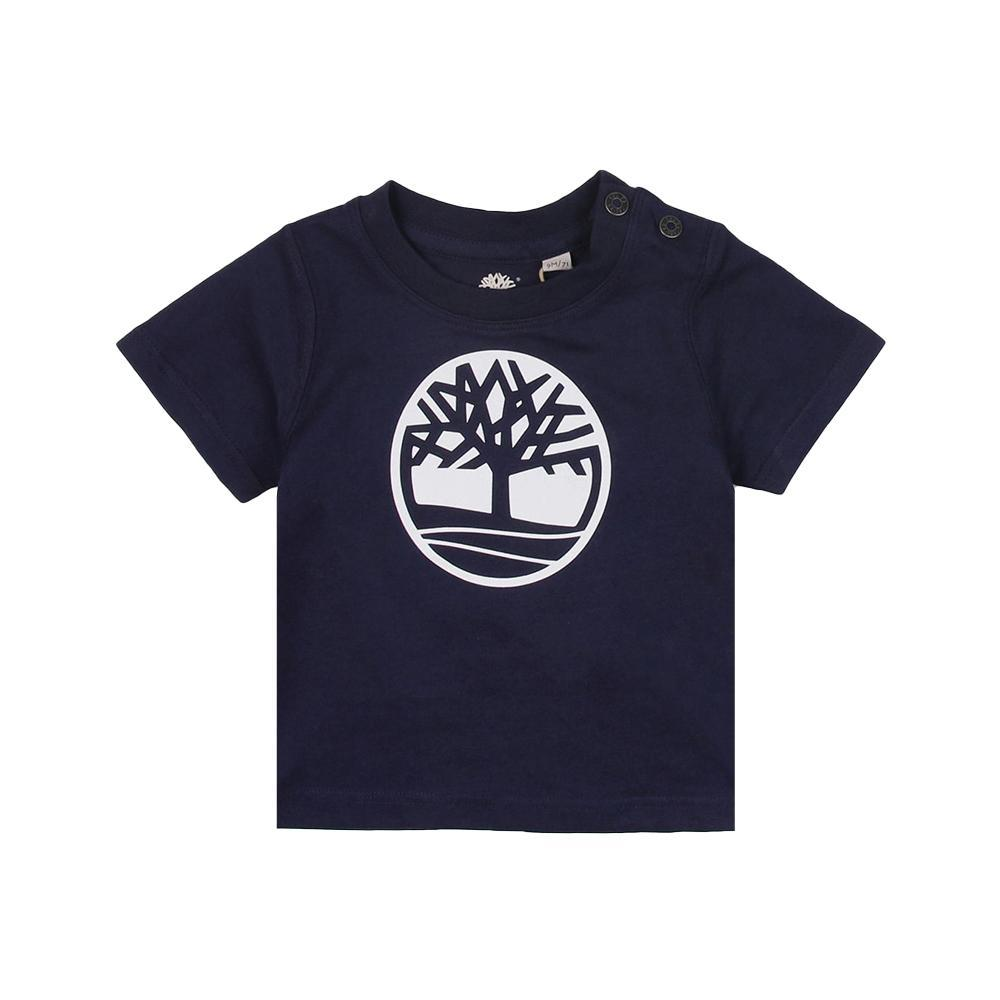 timberland timberland t-shirt bambino blu t05j171