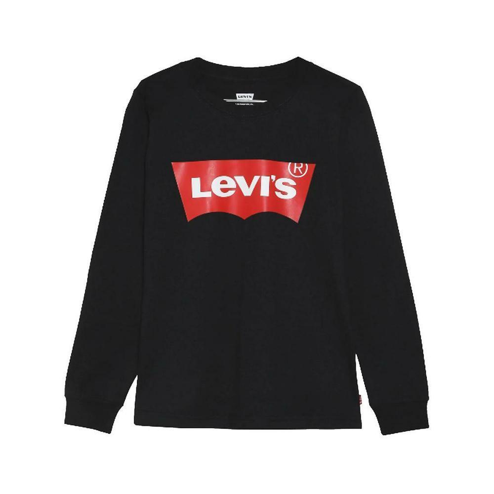 levis t-shirt ml levis bambino nero  9e8646