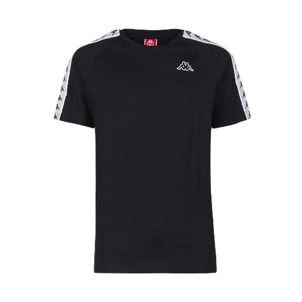 kappa kappa t-shirt bambino nero bianco 303uv10