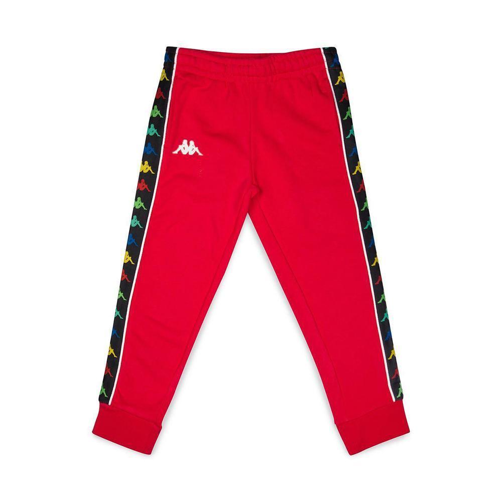 kappa kappa pantalone junior rosso 39114cw1