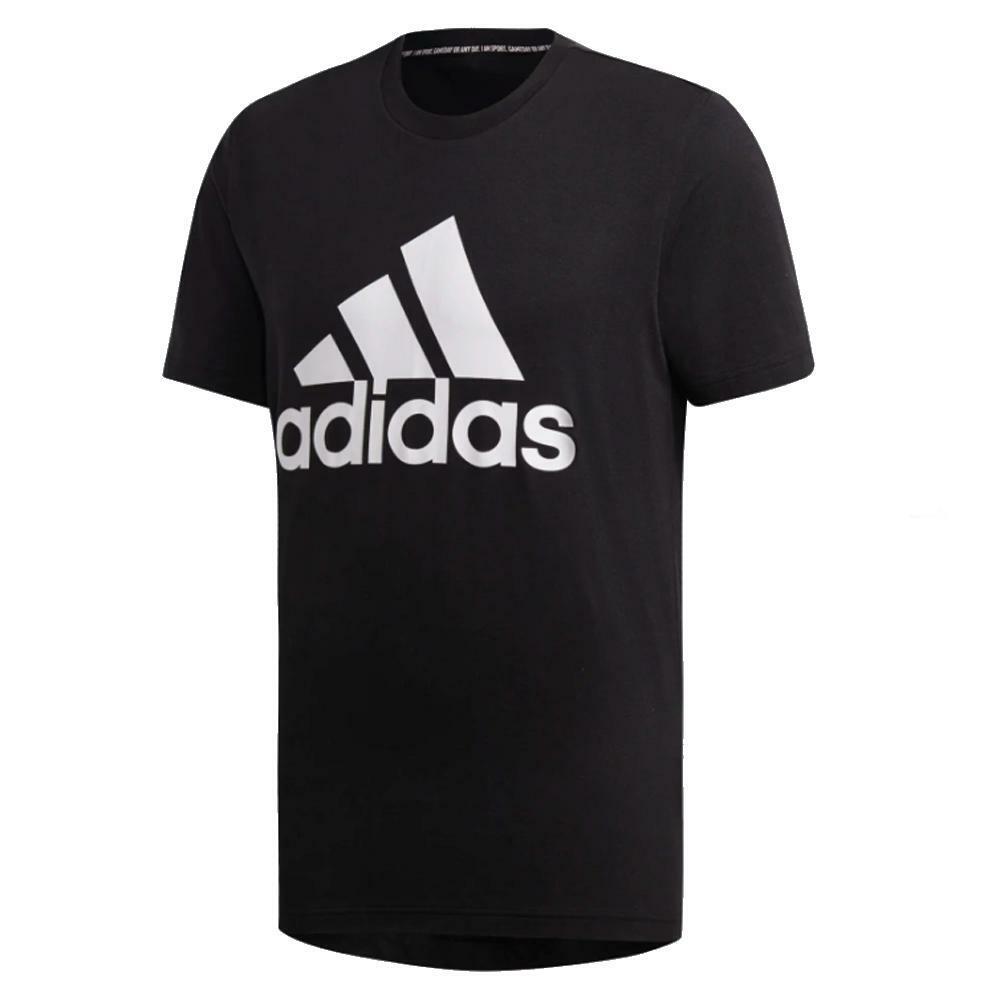 adidas adidas t-shirt uomo nero bianco dt9933