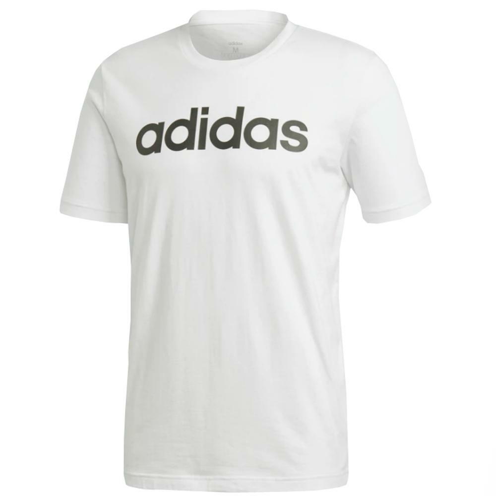 adidas adidas t-shirt uomo bianco nero dq3056