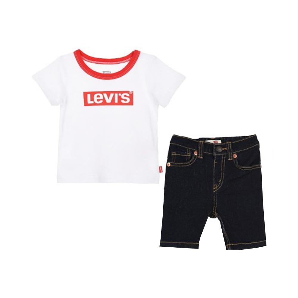 levis levis completo neonato bianco 6ea824